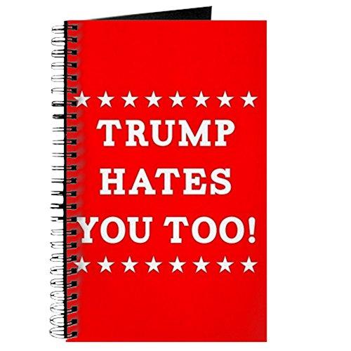 Hates auch Spiralbindung Tagebuch Notizbuch, persönliches Tagebuch, blanko ()