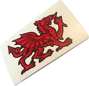 wb16 Wales Dragon Sticker For Inside Glass
