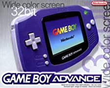 Game Boy Advance Konsole Purple