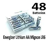 NEMT Flachbox mit 48x Energizer Lithium Mignon AA Batterie LR6
