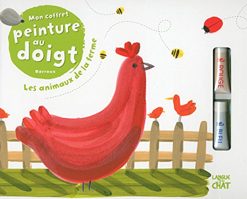 Mon coffret peinture au doigt Barroux - Les animaux de la ferme