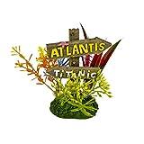 Blue Ribbon Pet Products 006083Exotic Umgebungen Atlantis und Titanic Schild