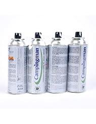 12 Cartouches de gaz butane pour réchaud camping gaz