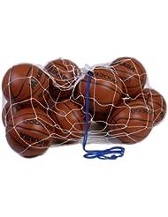 Mikasa Sports Ball Net Mesh Bag Holds 16 Soccer 16 Volleyball 18 Football MBB