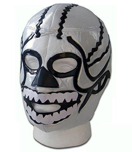 Brother Death Skull Erwachsene Mexiko Lucha Libre Wrestling Maske - Mexikanische Wrestling-cape