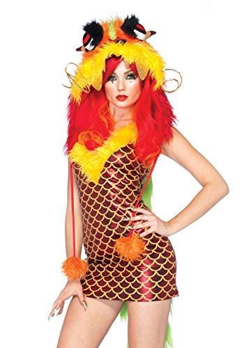 Leg Avenue 85088 - Emperial Drachen Kostüm, Größe S/M, - Leg Avenue Kostüm Drache