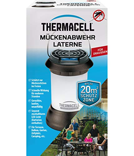 ThermaCell MR-9SB Mückenschutz Mini-Laterne, 10 x 10 x 17 cm