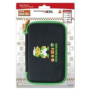 HORI 3DS XL Retro Mario Hard Pouch (Luigi) Edition: Luigi Version Portable Consumer Electronic Gadget Shop