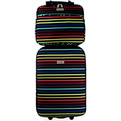 valise-cabine-ryanair-et-reporter-little-marcel-2-roulettes-poignee-telescopique-fermeture-eclair