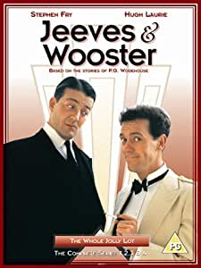 Jeeves And Wooster: The Complete Series 1-4 [DVD]