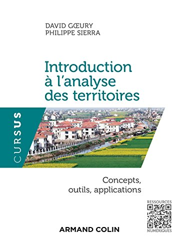 Introduction à l'analyse des territoires - Concepts, outils, applications