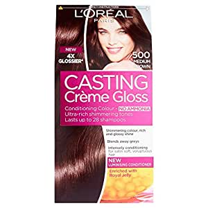 Casting Creme Gloss de L'Oreal Paris 500 Chatain Clair / Chatains et Bruns
