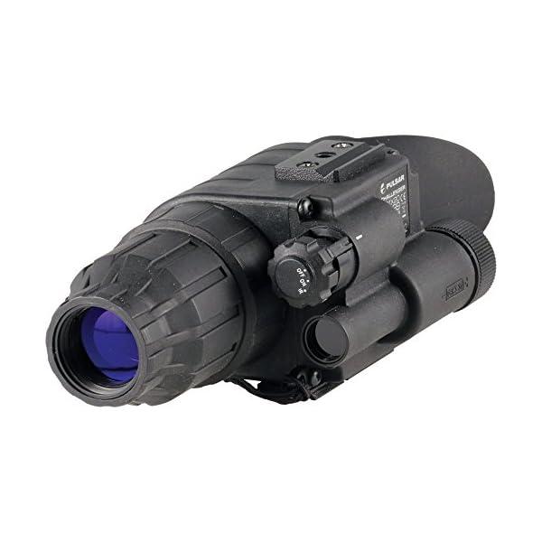 Pulsar Challenger GS 1 x 20 Night Vision Monocular One Size Black