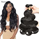 Body Wave 4 Bundles (18 20 22 24 pouces) Extensions de cheveux humains 100% Remy non transformés en cheveux naturels de Malaisie, couleur naturelle