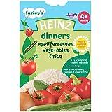 Légumes Heinz Dîners méditerranéens et riz 4mois + (125g) -