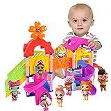 hahuha Toy  Dekompressionsspielzeug, Prinzessin Doll Park House Spiel Big Slide Spielset Geschenk Spielzeug für LOL Überraschungspuppe