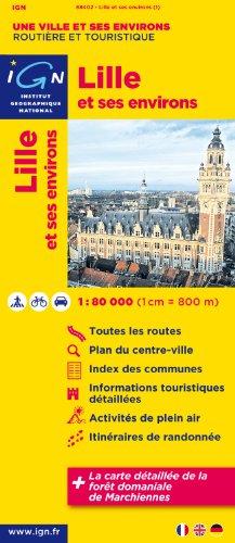 88402 Lille et Ses Environs 1/80.000