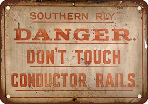 southern-railway-peligro-no-toque-conductor-rails-aspecto-vintage-reproduccion-metal-tin-sign-8-x-12