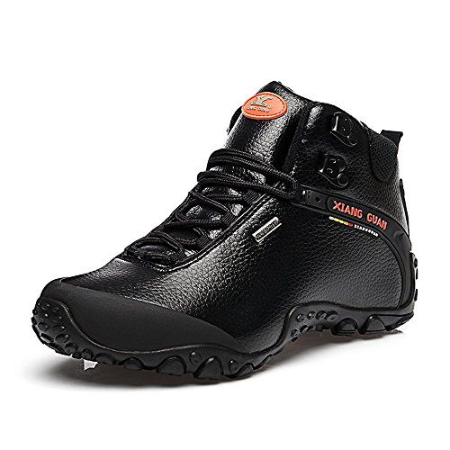 Xiang Guan Femme High Top Cuir Imperm Able Outdoor Footwear Chaussures De Camping Randonn E Trail Trekking Bottes