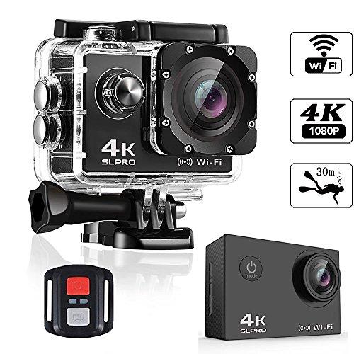 slpro-Action-Cam-4-K-WiFi-Camera-Ultra-Cmara-de-casco-Full-HD-cmara-subacutica-resistente-al-agua-Mejoradas-batera-y-accesorios-de-montaje-Kit