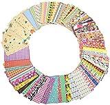 Katia Colorful Sticker Borders for Fujifilm Instax Mini 8 / 90 / 25 / 50s / 70s Camera ( 120 sheets )