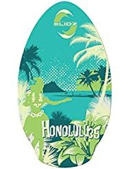 Skimboard SLIDZ 90cm Honolulu Verde Madera Wood