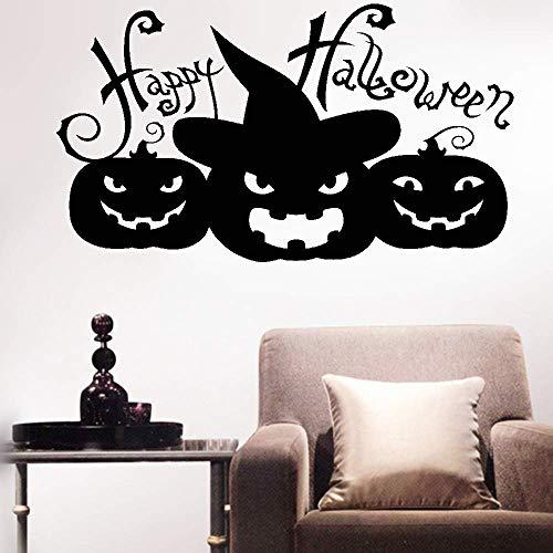 wandaufkleber schmetterling rosa Wall Sticker Decals Happy Halloween With Pumpkin For Haloween Day home decor
