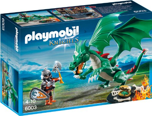 Preisvergleich Produktbild PLAYMOBIL 6003 - Großer Burgdrache