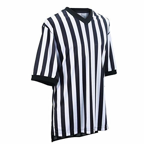 Exclusive Uniform exclusivecollection Women's Mesh and Cut Standard V-Neck Referee Shirt