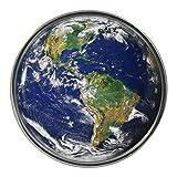 Planet Earth Design Metal Pin Badge
