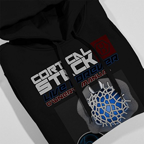 Cortical Stack Owners Manual Altered Carbon Women's Hooded Sweatshirt Black