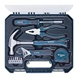 #7: Bosch Hand Tool Kit (Blue, 12 Pieces)