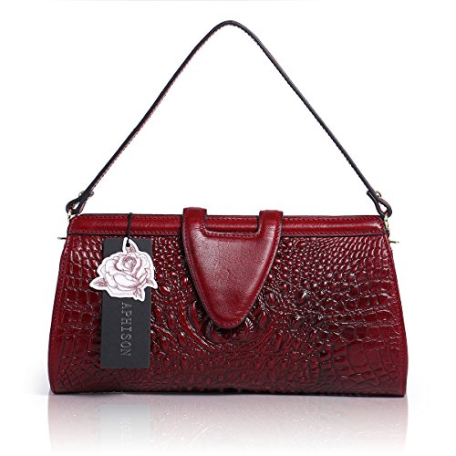 Aphison, Borsa a mano donna Red