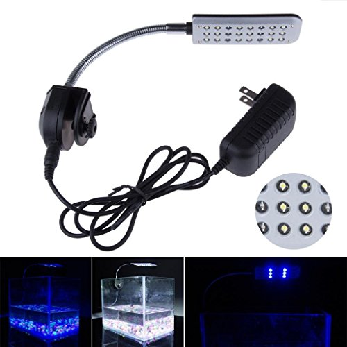 Glighone Lámpara Táctil Acuario LED Acuario Plantas