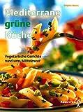 Mediterrane grüne Küche