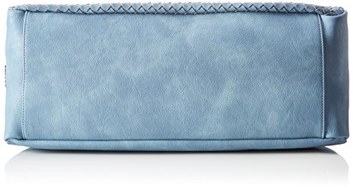 Boscha - Shopper Bag, cartella Donna Blu (Jeans)