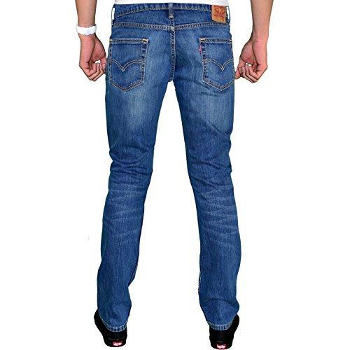 Levi's® Mens 511TM Slim/Skinny Fit Throttle 511-1163 (W40L30, Throttle) -