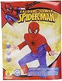 Marvel Official Spiderman Spider Sense Boys Fancy Dress Costume (Medium, 5-6 years)
