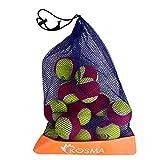 Kosma Unisex-Youth KG-26157 Tennisball, Rot, Gelb, Einheitsgröße