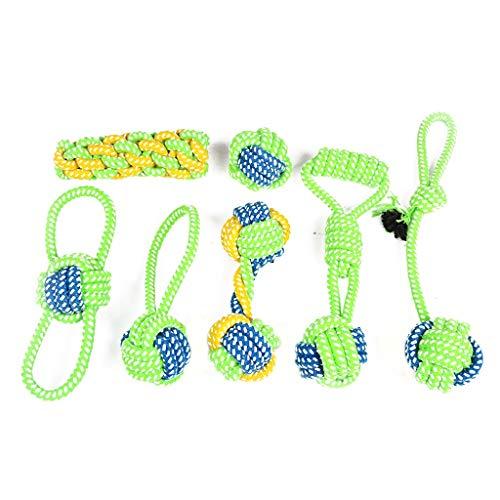 Health Care Packs (Haustier Hundespielzeug, Interaktive Kaugummi-Kugel Spielzeug Set Sauberen Zahn Deodorant, Health Care Welpen Und Medium Dog Pack 7)
