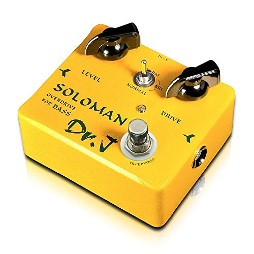 DR.J D52 Effects Soloman Bass Overdrive