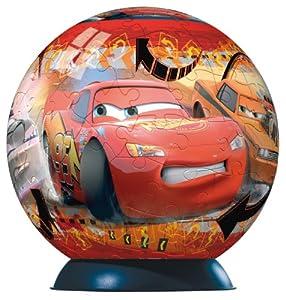 Ravensburger 11607 Disney Cars Puzzleball - Puzzle con Forma de Bola (108 Piezas)