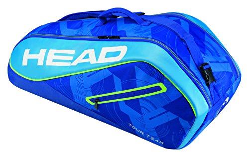 HEAD Tour Team 6R Combi Schlägertasche, Blau, 79 x 26 x 34 cm
