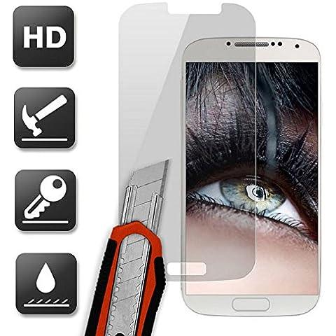 subtel® Vetro protettivo di schermo per Samsung Galaxy S4 (GT-i9500 / GT-i9505 / GT-i9515) HD-Qualità 0,33mm Pellicola Protettiva Temperato Adesiva Tempered Glass