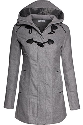 bodilove-womens-sophisticated-duffle-coat-with-detachable-hood-heather-gray-l-jw2095-heather-gray-ou