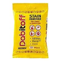 Kilrock Dabitoff Stain Remover For Carpet & Upholstery Wipes 20's