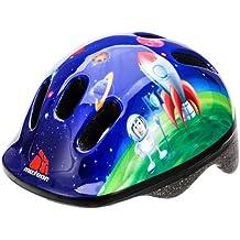 Casco protector para bicicleta infantil, para niños, talla pequeña, color Rocket, tamaño 44-48 cm