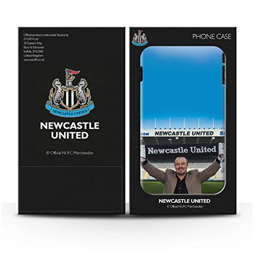 Officiel Newcastle United FC Coque / Brillant Robuste Antichoc Etui pour Apple iPhone 6+/Plus 5.5 / Pack 8pcs Design / NUFC Rafa Benítez Collection Bienvenue