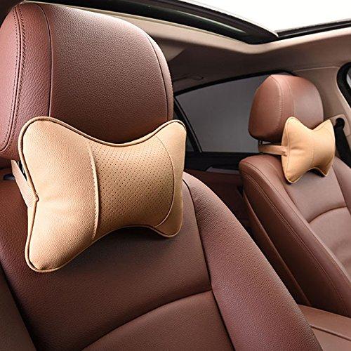 Preisvergleich Produktbild Calcifer® 1Paar Auto-Massage-Nackenkissen aus Memory-Schaumstoff #CP004