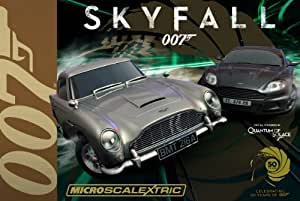 Micro Scalextric G1083 James Bond 007 Skyfall 1:64 Scale Race Set